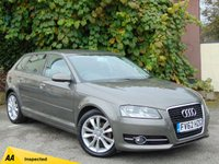 USED 2012 62 AUDI A3 1.6 TDI SPORT 5d  **ECONOMICAL** LOW RUNNING COSTS**128 POINT AA INSPECTED