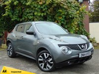 USED 2014 14 NISSAN JUKE 1.6 N-TEC 5d AUTO  * 128 POINT AA INSPECTED *