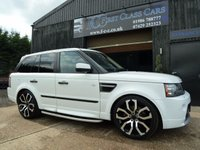2012 LAND ROVER RANGE ROVER SPORT 3.0 TDV6 STORMER EDITION 5d AUTO 245 BHP £23995.00