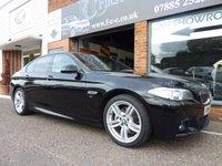 2014 BMW 5 SERIES 2.0 520D M SPORT 4d AUTO 188 BHP £14990.00
