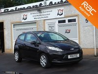 USED 2011 11 FORD FIESTA 1.2 EDGE 3d 81 BHP 1 Owner ,5 Service stamps