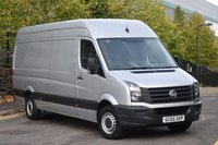 USED 2016 65 VOLKSWAGEN CRAFTER 2.0 CR35 TDI P/V 5d 136 BHP AIR CON LWB HIGH ROOF DIESEL PANEL MANUAL VAN  ONE OWNER LOW MILEAGE FULL S/H