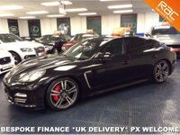 USED 2013 13 PORSCHE PANAMERA 3.0TD V6 TIPTRONIC S AWD RARE PLATINUM EDITION  F.P.S.H - LADY OWNER - VERY LOW MILEAGE - TURBO WHEELS