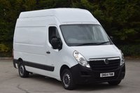 USED 2014 64 VAUXHALL MOVANO 2.3 F3500 L2H3 CDTI 5d 123 BHP MWB EXTRA HIGH ROOF DIESEL MANUAL VAN  ONE OWNER FULL S/H SPARE KEY