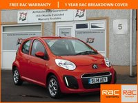 USED 2014 14 CITROEN C1 1.0 EDITION 5d 67 BHP Central Locking , 4 Service Stamps , 14 inch Alloys