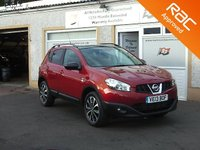 USED 2013 13 NISSAN QASHQAI 1.6 DCI 360 IS 5d 130 BHP 360 Cameras ,Half Leather , Panoramic roof ,Sat Nav ,Auto Wipers