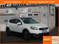 USED 2012 62 NISSAN QASHQAI 1.5 N-TEC PLUS DCI 5d 110 BHP 360 cameras , Auto lights & Wipers ,Panoramic roof