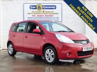 USED 2010 59 NISSAN NOTE 1.4 ACENTA 5d 88 BHP Low Mileage Bluetooth Air Con 0% Deposit Finance Available