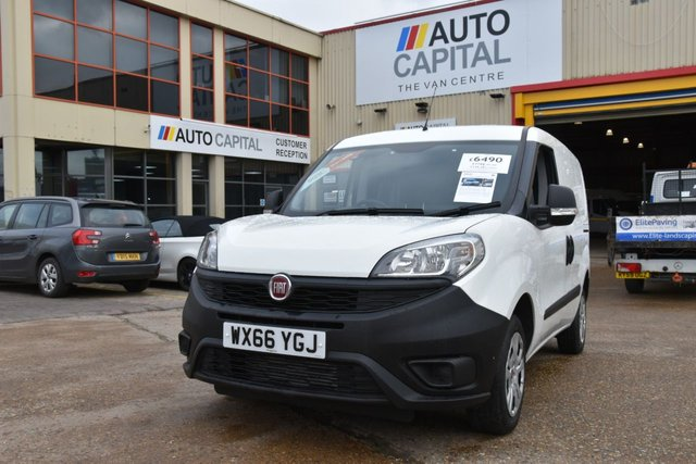 2016 66 FIAT DOBLO 1.2 16V MULTIJET PROFESSIONAL 5d 90 BHP SWB FWD ONE OWNER FROM NEW