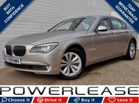 USED 2010 59 BMW 7 SERIES 3.0 730D SE 4d AUTO 242 BHP BLACK FRIDAY WEEKEND EVENT, HEATED SEATS SAT NAV BLUETOOTH