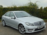 USED 2012 12 MERCEDES-BENZ C CLASS 2.1 C220 CDI BLUEEFFICIENCY SPORT 4d AUTOMATIC *BLUETOOTH * SATELLITE NAVIGATION *