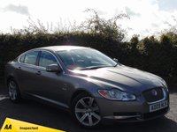 USED 2009 09 JAGUAR XF 2.7 LUXURY V6 4d AUTOMATIC 128 POINT AA INSPECTED *  SATELLITE NAVIGATION *