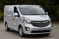 USED 2014 64 VAUXHALL VIVARO 1.6 2700 L1H1 CDTI P/V SPORTIVE 5d 114 BHP AIR CON SWB DIESEL MANUAL VAN  ONE OWNER LOW MILEAGE EURO 5 ENGINE START STOP