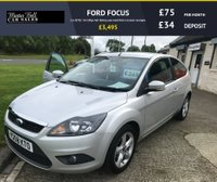 USED 2008 58 FORD FOCUS 1.6 ZETEC 3d 100ps full history you wont find a cleaner example
