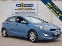 USED 2012 62 HYUNDAI I30 1.4 CLASSIC 5d 98 BHP Full Service History Bluetooth 0% Deposit Finance Available