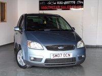 2007 FORD C-MAX 1.8 C-MAX GHIA 5d 116 BHP £1700.00