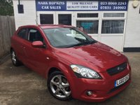 USED 2010 60 KIA CEED 1.6 PRO CEED 3 CRDI 3d 114 BHP 73 K FSH TWO LOCAL OWNERS  HIGH SPEC MODEL  EXCELLENT CONDITION