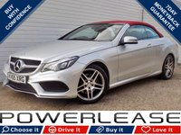 USED 2015 65 MERCEDES-BENZ E CLASS 2.1 E220 BLUETEC AMG LINE 2d AUTO 174 BHP BLACK FRIDAY WEEKEND EVENT, RED LEATHER DAB SAT NAV CRUISE