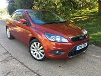 USED 2011 11 FORD FOCUS 2.0 CC3 2d 144 BHP PLEASE CALL TO VIEW