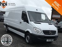 2013 MERCEDES-BENZ SPRINTER 2.1 313 CDI LWB BlueEFFICIENCY ECO £6990.00