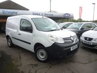 USED 2016 16 RENAULT KANGOO 1.5 ML19 BUSINESS DCI 1d 89 BHP NEED FINANCE? WE STRIVE FOR 94% ACCEPTANCE