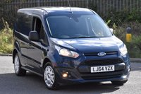 USED 2014 64 FORD TRANSIT CONNECT 1.6 200 TREND P/V 5d 94 BHP SWB EURO 5 DIESEL PANEL MANUAL VAN ONE OWNER S/H EURO 5 ENGINE