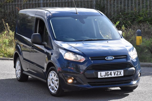 2014 64 FORD TRANSIT CONNECT 1.6 200 TREND P/V 5d 94 BHP SWB EURO 5 DIESEL PANEL MANUAL VAN ONE OWNER S/H EURO 5 ENGINE
