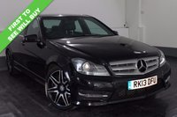 2013 MERCEDES-BENZ C CLASS 2.1 C220 CDI BLUEEFFICIENCY AMG SPORT PLUS 4d AUTO 168 BHP £14555.00