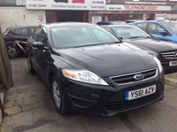 USED 2011 61 FORD MONDEO 1.6 EDGE TDCI 5d 114 BHP £30 per year road tax, great economy, great family hatchback.
