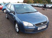 USED 2006 06 FORD FOCUS 1.6 LX 5d 100 BHP AFFORDABLE FAMILY CAR IN EXCELLENT CONDITION, EXCELLENT SERVICE HISTORY, DRIVES SUPERBLY !!