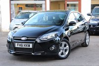 USED 2012 61 FORD FOCUS 1.6 ZETEC TDCI 5d 113 BHP FULL FORD MAIN DEALER SERVICE HISTORY / £20 TAX / DAB RADIO / IPOD / BLUETOOTH