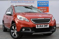 USED 2014 64 PEUGEOT 2008 1.6 E-HDI ALLURE 5d 92 BHP AIR CONDITIONING