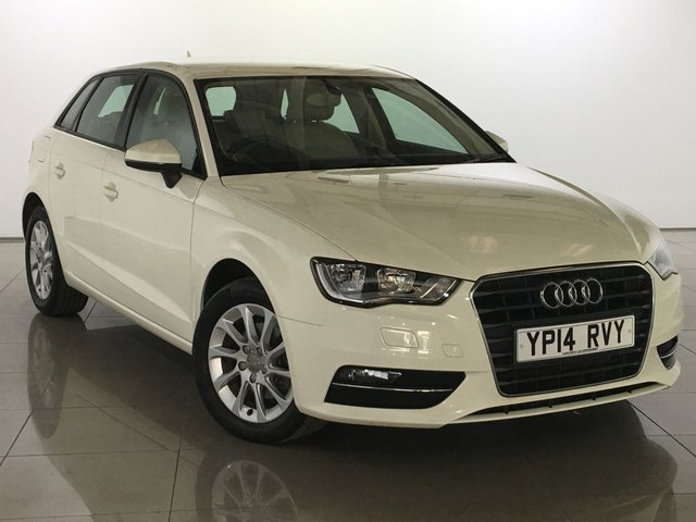 View our 2014 14 AUDI A3 2.0 TDI SE 5d AUTO 148 BHP