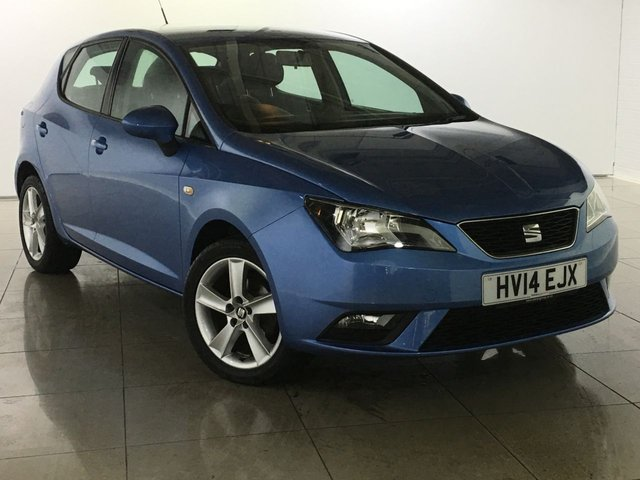 View our 2014 14 SEAT IBIZA 1.4 TOCA 5d 85 BHP