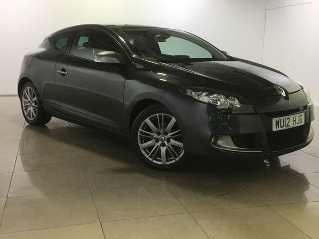 View our 2012 12 RENAULT MEGANE 1.5 GT LINE TOMTOM DCI ECO 3d 110 BHP