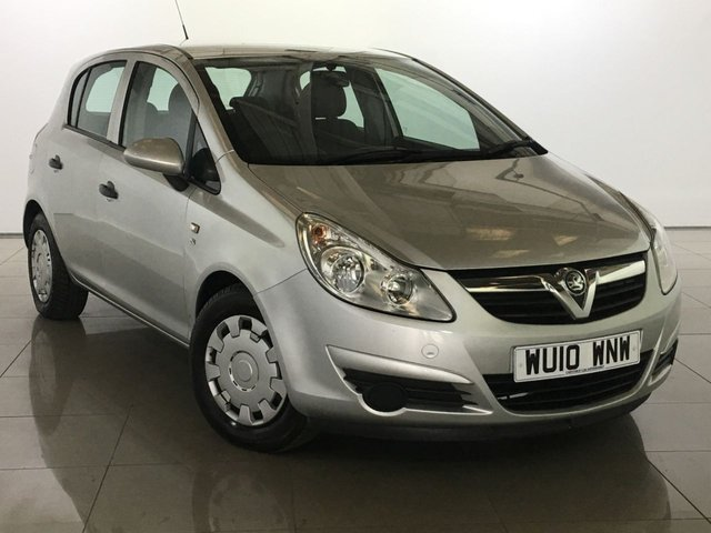 View our 2010 10 VAUXHALL CORSA 1.2 S A/C 5d AUTO 83 BHP