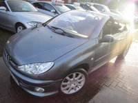 USED 2006 55 PEUGEOT 206 1.6 SPORT COUPE CABRIOLET 2d 108 BHP PX TO CLEAR