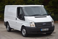 USED 2014 63 FORD TRANSIT 2.2 280 LR 5d 99 BHP SWB FWD EURO 5 DIESEL PANEL MANUAL VAN TWO OWNERS FULL S/HISTORY