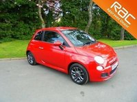 2014 FIAT 500 1.2 ( 69bhp ) S Only 19.805 Miles F.S.H £6495.00