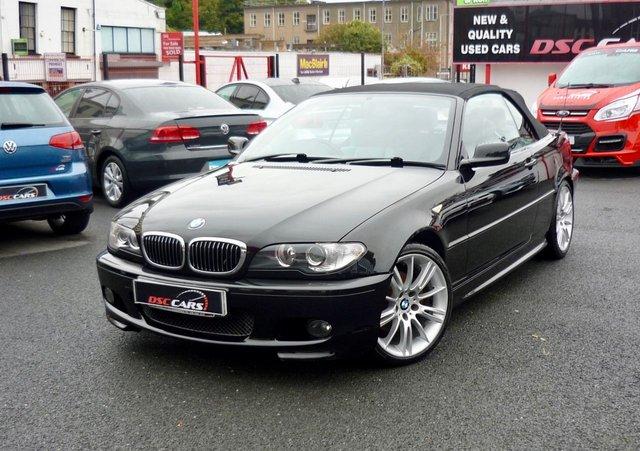 2006 BMW 3 SERIES 2.2 320CI SPORT 2d 168 BHP