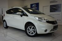 USED 2013 63 NISSAN NOTE 1.2 ACENTA PREMIUM SAFETY 5d 80 BHP FSH - SAT NAV - Cruise Control