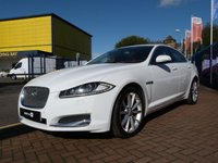 2011 JAGUAR XF 2.2 D LUXURY 4d AUTO  £12995.00