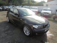 USED 2011 11 BMW 1 SERIES 2.0 118D M SPORT 5d 141 BHP