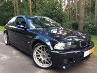 2005 BMW M3 3.2 CS 2d 6 Speed Manual 338bhp Collectors Item/Investment £17750.00