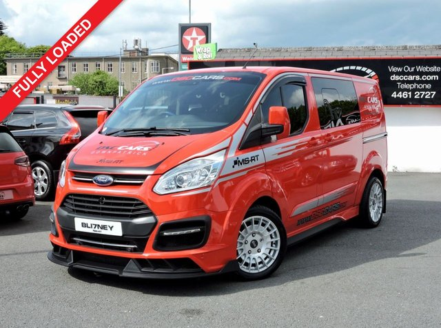 2017 17 FORD TRANSIT CUSTOM  290 LIMITED DCIV AUTO 168 BHP 5 SEATER