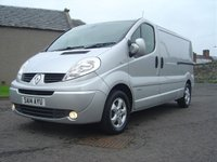 USED 2014 14 RENAULT TRAFIC 2.0 LL29 SPORT DCI S/R P/V 1d 115 BHP