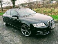 2010 AUDI A6 2.0 TDI E S LINE 4d 134 BHP £8995.00