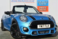 USED 2017 17 MINI CONVERTIBLE 1.5 COOPER 2d 134 BHP **LOW MILEAGE**