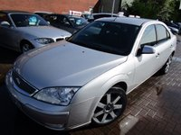 USED 2005 55 FORD MONDEO 2.0 TITANIUM X TDCI 5d 130 BHP PX TO CLEAR