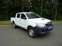 2014 TOYOTA HI-LUX 2.5D-4D 4WD Active Only 21.030 Miles £14750.00
